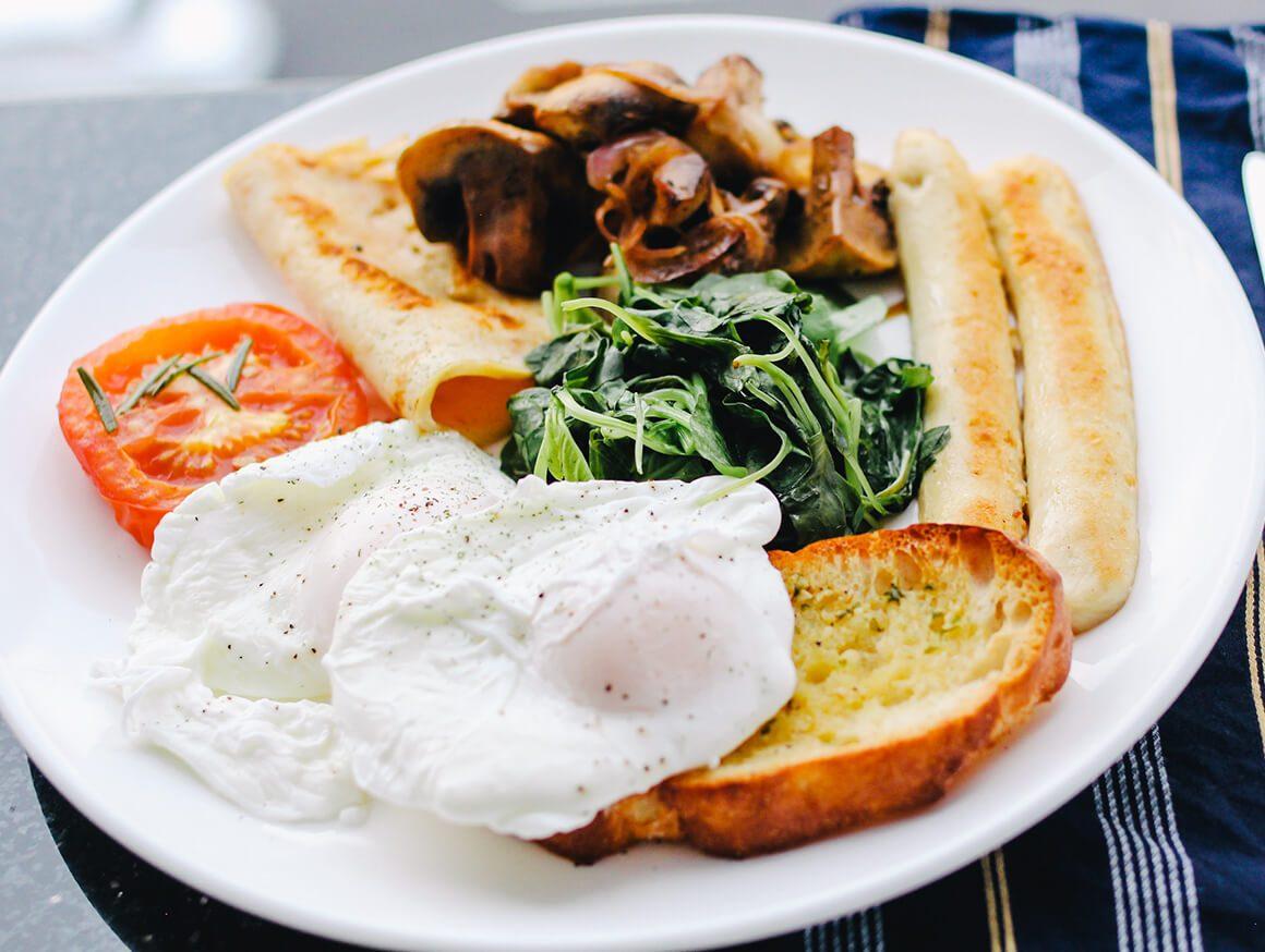 Egg Breakfast Grilled Sandwich